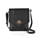 Graceful Double Zip Sequined Women Shoulder Bags